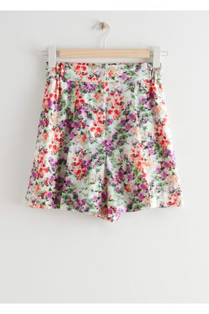 & OTHER STORIES Women Shorts - Wide Floral Print Shorts