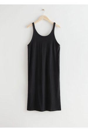 & OTHER STORIES Women Party Dresses - Sleeveless Cotton Mini Dress