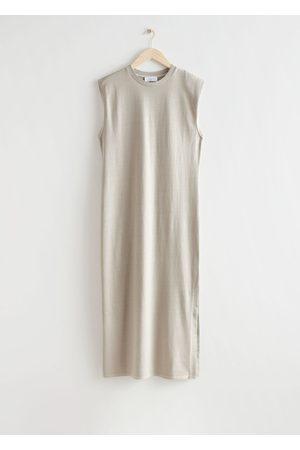 & OTHER STORIES Women Casual Dresses - Jersey Tank Midi Dress