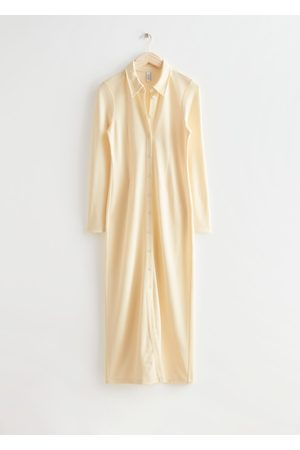 & OTHER STORIES Collared Maxi Shirt Dress