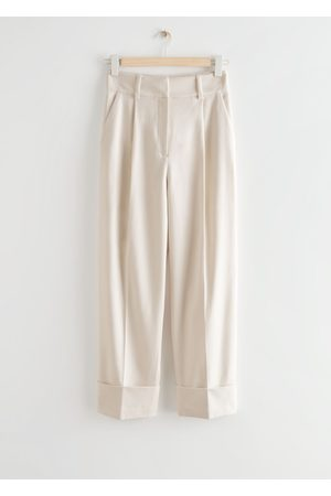 & OTHER STORIES Women Jeans - Relaxed Fold-Up Cuff Trousers