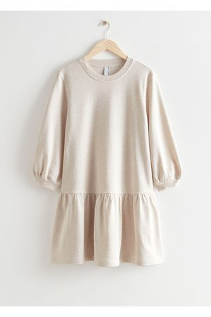 & OTHER STORIES Women Casual Dresses - Tiered Jersey Mini Dress