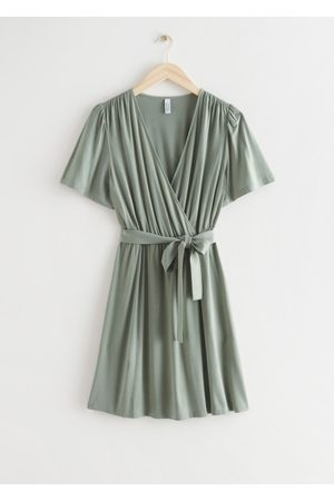 & OTHER STORIES Women Dresses - Belted Wrap Dress