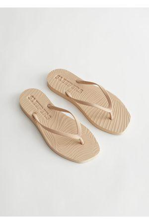 & OTHER STORIES Women Flip Flops - Sleepers Tapered Flip Flops