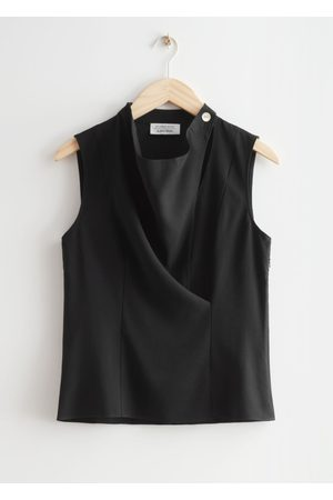 & OTHER STORIES Sleeveless Cowl Neck Blouse