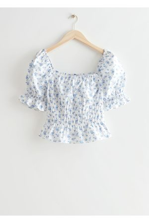 & OTHER STORIES Women Tops - Puff Sleeve Top