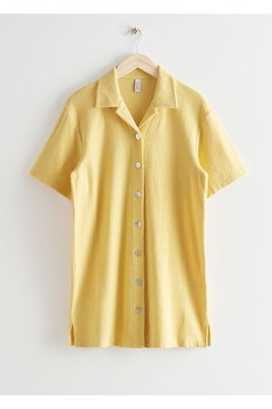 & OTHER STORIES Women Casual Dresses - Oversized Mini Shirt Dress