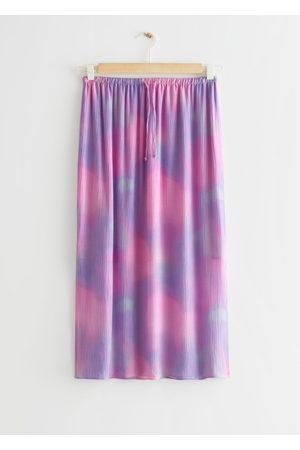 & OTHER STORIES Women Midi Skirts - Crinkled Midi Skirt