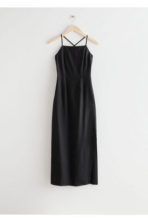 & OTHER STORIES Women Midi Dresses - Criss Cross Strap Midi Dress