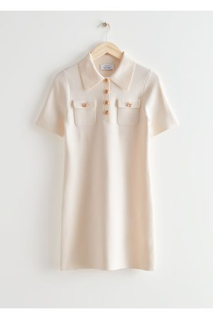 & OTHER STORIES Women Casual Dresses - Mini Polo Dress