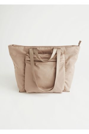 & OTHER STORIES Women Purses - Nylon Front Pocket Tote Bag