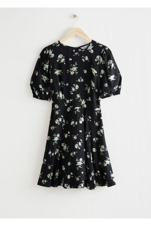 & OTHER STORIES Women Party Dresses - Puff Sleeve Mini Dress