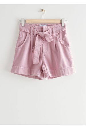 & OTHER STORIES Belted Jeans Shorts