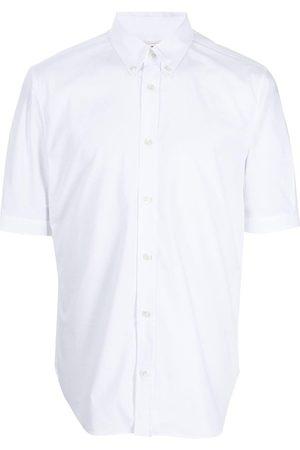 Alexander McQueen Men Short sleeves - Short-sleeve button-fastening shirt