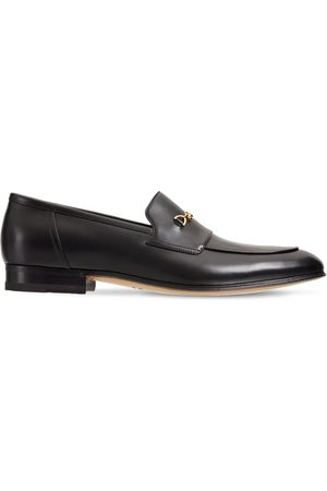 Gucci Men Loafers - Leather Loafers W/ Horsebit