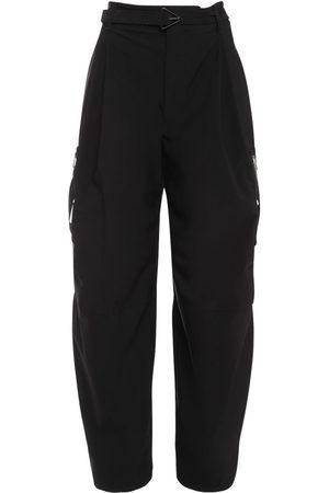 Bottega Veneta Women Stretch Pants - Stretch Wool Blend Pants