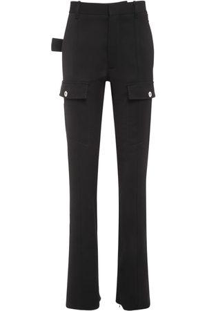 Bottega Veneta Women Pants - Wool Gabardine Long Pants