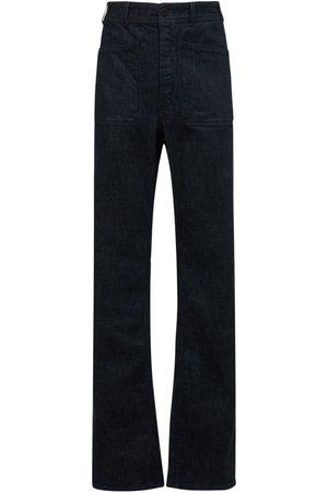 LEMAIRE Cotton Denim Wide Sailor Pants