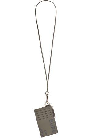 Burberry Men Wallets - Logo Print Leather Card Holder