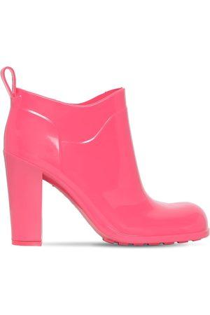 Bottega Veneta Women Ankle Boots - 90mm Shine Rubber Ankle Boots