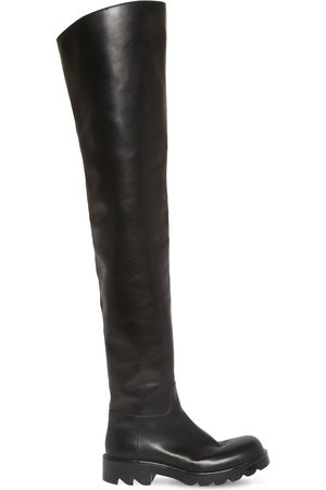 Bottega Veneta 35mm Strut Leather Over-the-knee Boots