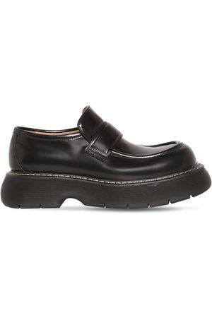 Bottega Veneta Men Loafers - Bounce Leather Loafers