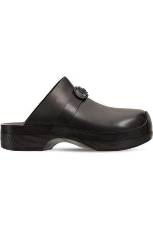 Salvatore Ferragamo Women Clogs - 20mm Nope Patent Leather Clogs