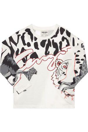 Kenzo Printed Organic Cotton T-shirt