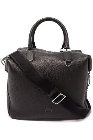 Dolce & Gabbana Men Travel Bags - Grained Leather Holdall - Mens