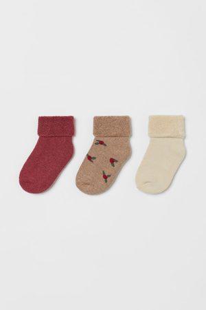H&M Socks - 3-pack Terry Socks