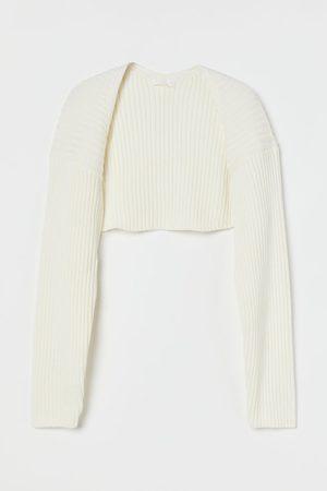 H&M Women Boleros - Rib-knit Bolero Sweater