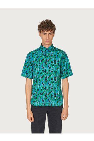 Salvatore Ferragamo Men Polo Shirts - Men Short sleeved sports shirt