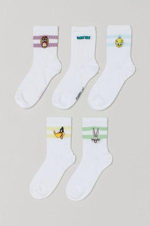 H&M Kids Socks - 5-pack Patterned Socks