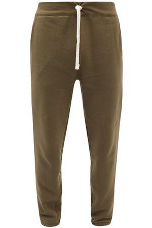Polo Ralph Lauren Logo-embroidered Cotton-blend Track Pants - Mens - Khaki