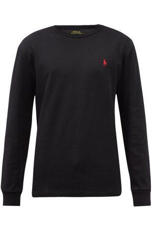 Polo Ralph Lauren Men Long Sleeve - Logo-embroidered Cotton Long-sleeved T-shirt - Mens
