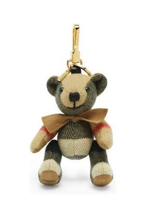 Burberry Women Purses - Thomas Bear Vintage-check Cashmere Key Ring - Womens - Multi