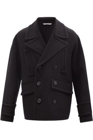 VALENTINO Double-breasted Wool-blend Jacket - Mens