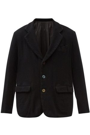 UNDERCOVER Men Blazers - Shawl-lapel Wool-jersey Blazer - Mens