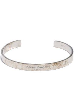 Maison Margiela Logo-engraved Sterling- Bracelet - Mens