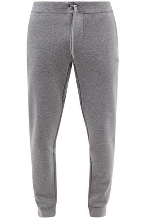 Polo Ralph Lauren Logo-embroidered Jersey Track Pants - Mens - Dark Grey