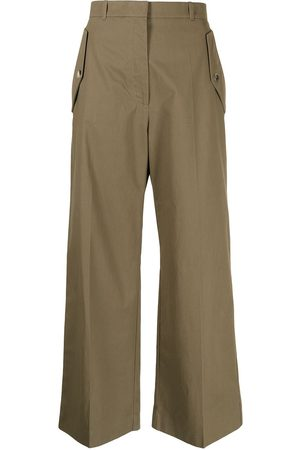 Kenzo Women Straight Leg Pants - Cropped straight-leg trousers