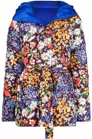 Dsquared2 Reversible floral-print padded coat