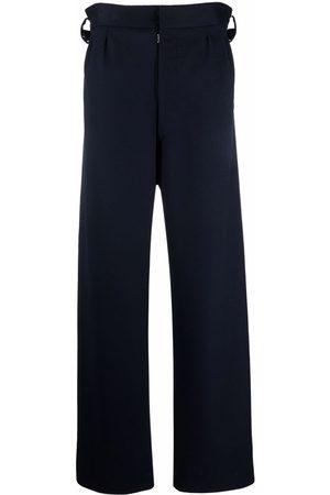 Maison Margiela Men Wide Leg Pants - Waist tabs wide-leg trousers