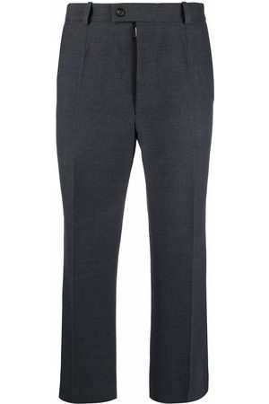 Maison Margiela Men Formal Pants - Cropped tailored trousers - Grey