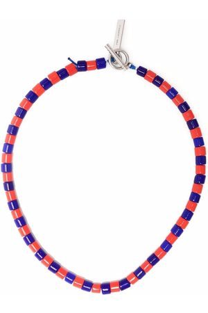 Karl Lagerfeld X Kenneth Ize beaded necklace
