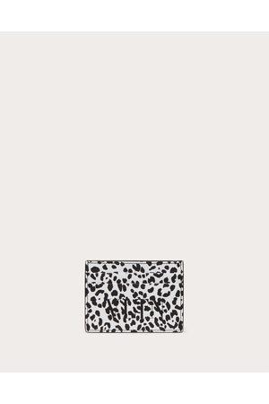VALENTINO GARAVANI Men Wallets - Vltn Animalier Cardholder Man / 100% Pelle Bovina - Bos Taurus OneSize