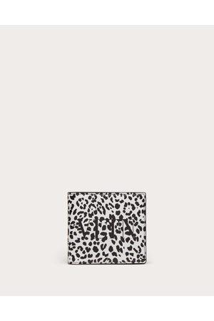 VALENTINO GARAVANI Men Wallets - Vltn Animalier Wallet Man / 100% Pelle Bovina - Bos Taurus OneSize