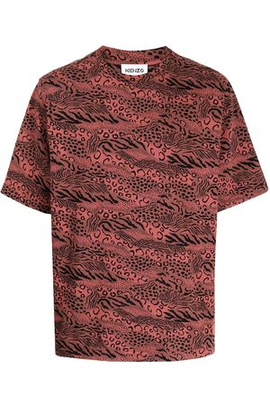Kenzo Men T-shirts - Skate mix-print T-shirt