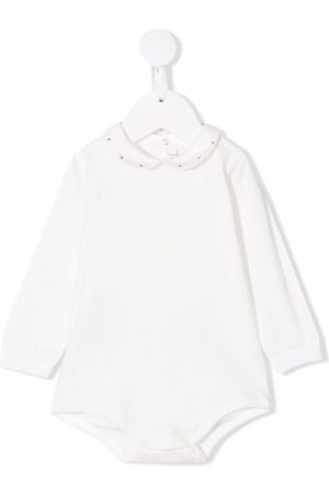 Il gufo Rompers - Embellished collar bodysuit