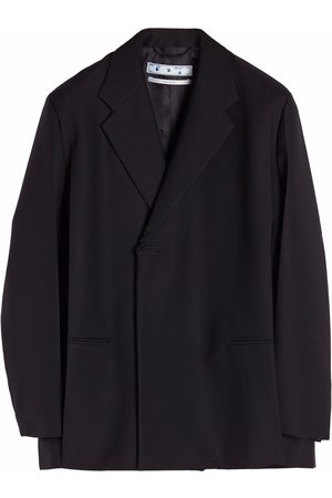 OFF-WHITE Crease double breasted blazer